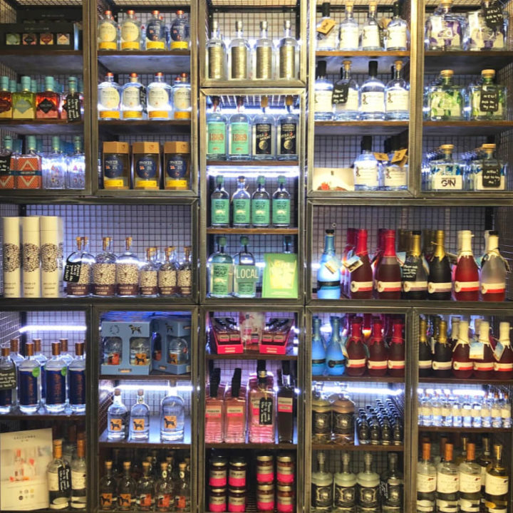 gin wall instow